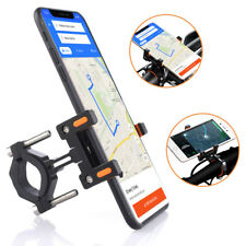 Universal Motorcycle Mobile Phone Mount Holder Motorbike Grips Clamp CA