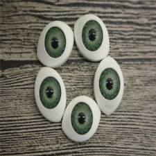 20Pcs Doll Eyes Gem Glass Eyeballs Mixed Color 10/16/20mm 3 size Card Making
