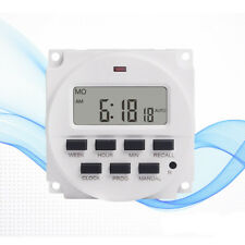 7 Day Heavy Duty Digital Programmable Timer LCD Power Time Control Switch #ur1