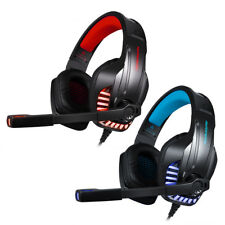 3.5mm Gaming Headset Mic LED Headphone Stereo Surround for PS4 Xbox ONE PC Q9T5