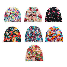 Bohemian Style Fashion Printed Bow Tie Hat Children's Travel Hat Baby Hooded Hat