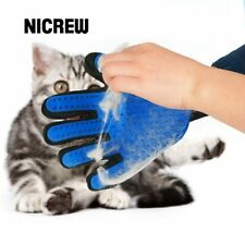 Nicrew Glove For Cats Cat Grooming Pet Dog Hair Deshedding Brush Comb Glove For