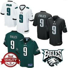 New Nick Foles #9 Philadelphia Eagles Football Jersey stitched ALL SIZE 50% OFF