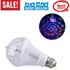 Mini Sound Active RGB LED Stage Light Crystal Ball For Club Disco KTV Party Bar
