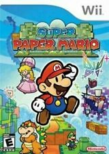 Super Paper Mario - Original Nintendo Wii game