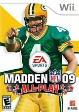 Madden 09 All-Play - Original Nintendo Wii game