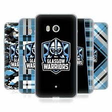 OFFICIAL GLASGOW WARRIORS 2019/20 LOGO GEL CASE FOR HTC PHONES 1