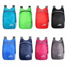 Waterproof Backpack Daypack Foldable Travel Bag Outdoor Hiking Camping Sports