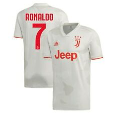 adidas Cristiano Ronaldo Juventus White 2019/20 Away Replica Player Jersey