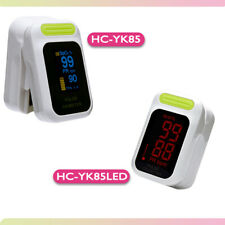 Fingertip Pulse LED Oximeter Blood Oxygen Saturation SPO2 Heart Rate O2 Monitor