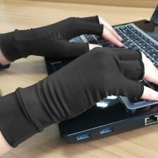 Copper Compression Arthritis Gloves Fit Carpal Tunnel Hand Wrist Pain Relief
