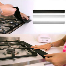 Anti Fouling Silicone Stove Counter Oven Gap Cover Kitchen Guard Spill Filler