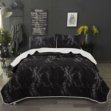 Bedspread Coverlet Set Comforter Bedding Cover 3-Piece Quilted Modern Style