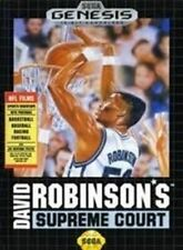 David Robinson's Supreme Court - Sega Genesis Game Authentic