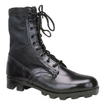 Black Ultra Force G.I. Syle Jungle Boots Black