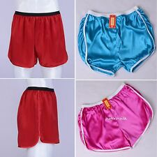 1 pc Mens 100% Pure Silk Sport Athletic Gym Jogging Football Active Shorts