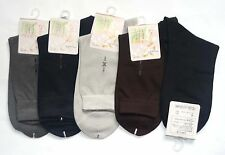 Men's Silk Dress Socks One size  Black Beige Silver Coffee Color