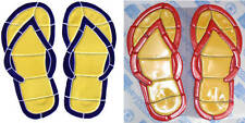 """Mosaic Flip Flops for Swimming Pool or Wall  10"""" x 10"""""""