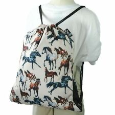 Wildkin Back Sack Cowboy, Horse Dreams, Horses in Pink