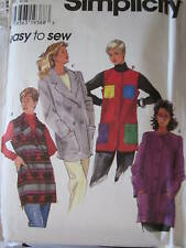 7332 Simplicity SEWING Pattern EASY Jacket Vest 8-24 UNCUT FF
