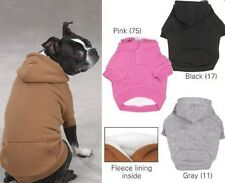 Zack & Zoey Fleece Lined Dog Hoodie Sweatshirt XS-XXL