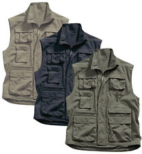 Regatta Mens Multi Pocket Bodywarmer Polycotton Waistcoat Gilet Quick Drying