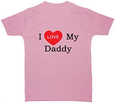 I Love My...Own Text Personalised Baby/Children T Shirt/Top Newborn-5 Yrs Acce