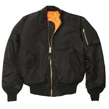 ALPHA MA1 FLIGHT JACKET PILOT Jacket All Colors XS,S,M,L,XL,2X,3X