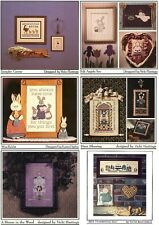 Cricket Collection  Counted Cross-Stitch Pattern  Assorted Designs