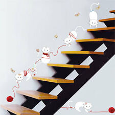 """Wall Decals Sticker CAT'S PLAYING 135-KR0033 """"US SELLER"""""""
