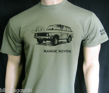 RANGE ROVER T-SHIRT - 5 sizes available in Olive Green or Khaki