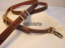 Adjustable Cross Body Messenger Bag Leather Handmade Replacement Straps