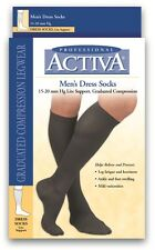 Activa Men Dress Compression Socks 15-20 mmhg Supports