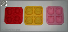 HELLO KITTY MICKEY MOUSE WINNE THE POOH BEAR MOULD CAKE JELLY CHOCOLATE SILICONE