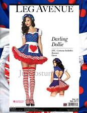 Sexy Darling Dollie Raggedy Ann Rag Doll Women's Adult Halloween Costume New