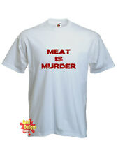 MEAT IS MURDER vegetarian vegan animal rights T Shirt all sizes