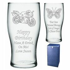 Engraved Pint Glass  Dad Daddy Pops Father Birthday Gift - Present-  Im1