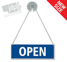 OPEN CLOSED HANGING SIGN SHOP DOOR WINDOW - ANY COLOUR