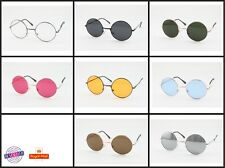 Classic John Lennon Round Style Shades Ozzy Vintage Hippie Designer Sunglasses