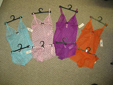 Womens Intimates Cami Panty Set Lingerie Boy shorts Small Med  NWT