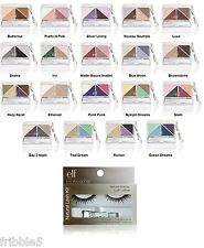e.l.f. Brightening Eye Color Quad PICK YOUR COLOR w/Black Eyelash Kit ELF NEW