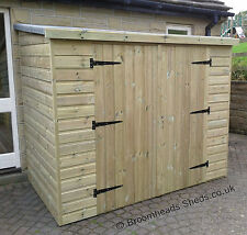 16mm TANALISED Timber wood Tool Bike store Shed NEW SIZES, HEIGHTS upto 6'6""