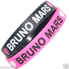 BRUNO MARS wristband silicone bracelet / wrist band bangle gift fashion love pop