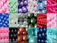 string of round glass pearl beads 6mm approx 150-160pcs
