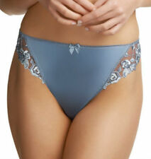 New Fantasie Lingerie Belle Satin Thong Smokey Blue 6070 VARIOUS SIZES