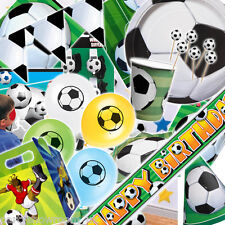 Sports Football Soccer Children's Birthday Party Tableware One Listing PS