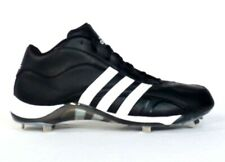 Adidas Signature Black & White Baseball Cleats Softball Shoes Mens NEW