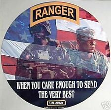 STICKER US ARMY VET SPECIAL FORCES RANGER BEST