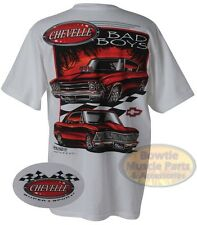 64 65 66 67 68 69 70 71 72 CHEVELLE BAD BOYS T-SHIRT - GM OFFICIALLY LICENSED