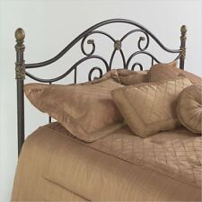 Fashion Bed Group Dynasty Metal Autumn Brown Finish Headboard